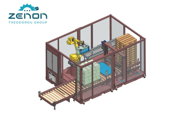 Zenon delivered 25 new robotic packaging systems